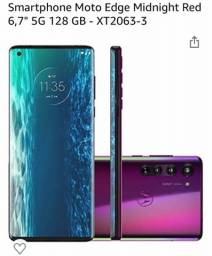 Smartphone Motorola Edge 128GB Solar red 6GB RAM