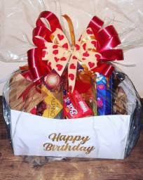 Caixa de chocolates aniversario