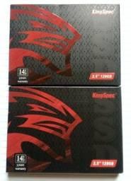 Título do anúncio: NOVOS (5 SSD) KingSpec P3-128 Sata III, 128GB e 512GB