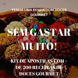 Título do anúncio: RECEITAS DE DOCES GOURMET