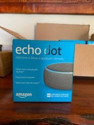 Echo dot preta promoção