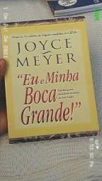 Livro Eu e minha boca grande da Joyce Meyer em ótimo estado