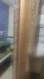 Título do anúncio: Espelho madeira bruta