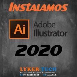 Título do anúncio: Instalação Illustrator