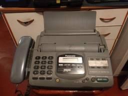 Título do anúncio: Fax Panasonic KX-F580 para colecionador