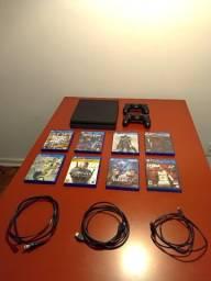Título do anúncio: Play Station 4 Slim 500Gb - R$ 1900 direto com comprador