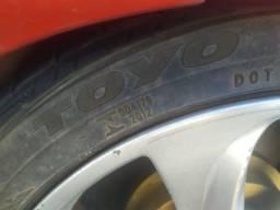 Troco pneus 205/45 17 perfil baixo por tamanhos menores