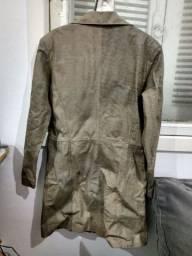 Jaqueta de couro Tam M/P