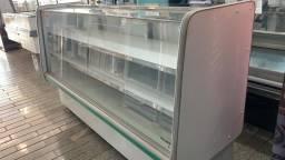 Balcão refrigerado 2 mt 2 placa fria 127v semi novo