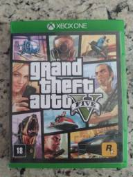 Título do anúncio: Jogo Xbox One GTA 5