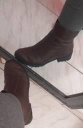 Título do anúncio: bota de couro