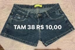 Lote 6 shorts