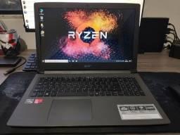 Título do anúncio: Acer Aspire Gammer +AMD Ryzen 5 2500U +VGA Radeon 2Gb +DDR4 8Gb +SSD M.2 128Gb + HDD 1Tb