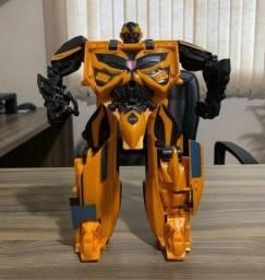 Título do anúncio: Figura Transformers Mega One Step, Era Da Extinção, Boneco De 25 Cm - Bumblebee - F1205