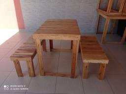 Mesa madeira - 250,00 preço ocasião