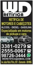 Retifica de Motores e Cabeçotes Todas as Marcas e Modelos.