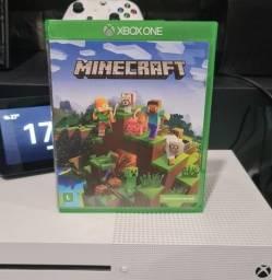 Título do anúncio: Minecraft Xbox One e Series S e X - Mídia Física + Entrega Grátis em Joao Pessoa