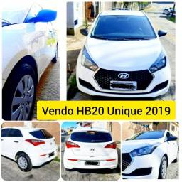 Vendo HB20 2019 Unique - imperdível !!!