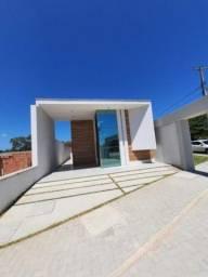 Casa plana com 3 suites  140M2 de área construída rua privativa  #ce11