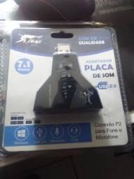 Título do anúncio: Placa USB 2.0 Knup