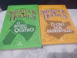 LIVROS (Sherlock Holmes, Maquiavel, Frankstein...)