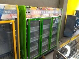 Expositor refrigerado de Frutas e legumes