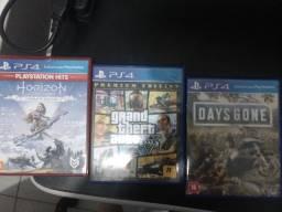 Vendo 3 jogos de PS4