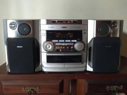 Título do anúncio: Aparelho de som mini-system Philips FW-C290