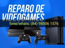 Título do anúncio: Tecnico de vídeo game