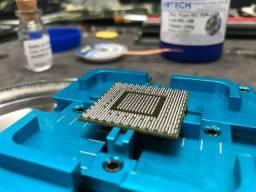 Reparo Apple - Reballing bga - assistência técnica eletrônica em informática