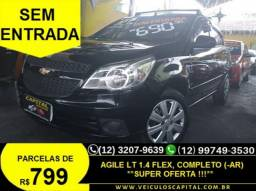 CHEVROLET AGILE HATCH LT 1.4 8V (FLEX) 4P 2010 - 2010