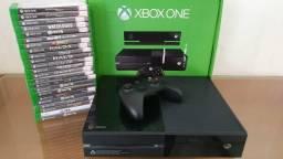 Xbox one FAT 500GB Semi Novo- Com Garantia-Aceitamos PS3 mais volta