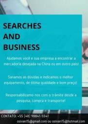 Soluções em procura e importação de equipamentos e marquinhas