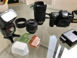 Nikon D7500 + 18-140mm + flash SB700