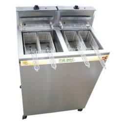 Fritadeira Elétrica Industrial 36 Litros Água e Óleo 220v