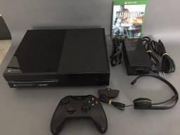 Xbox One - 500gb - 1 Controle - 1 Jogo - Headset