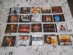 CDs usados (Rock, Metal, Eletrônica, OST, etc), a partir de R$10