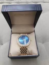 Relógio Dourado lindo, sem uso