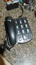 Telefone aparelho tecla grande