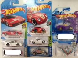 Hot wheels Mustang picape Corvette Charger Fiesta Fusca