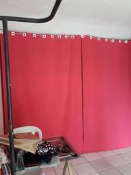 Vendo essa linda cortina na cor rosa Pink