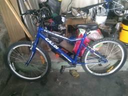 3c2d5fdc7 Troco bicicleta caloi 21 velocidade em celular bom