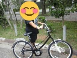 Bicicleta aro 26 com quadro de ceci