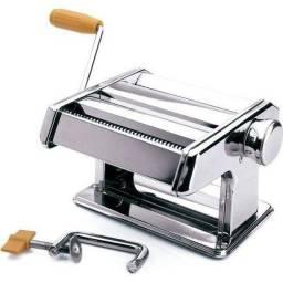Máquina Macarrão Aço Inox + Termômetro Digital Culinário
