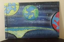 Tela de pintura