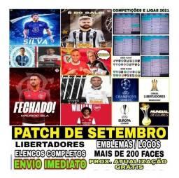 Patch 2020 Pes2018 Ps3 Brasileirão 2020 + Atualização Grátis