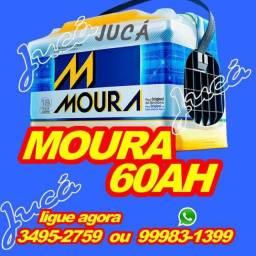 APROVEITE!!!! Preço sem igual!!!! Moura 60 ah!!! Confira