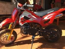 Vende-se mini moto Cross semi- nova - 2019