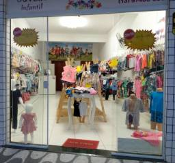Passo o ponto loja de roupa infantil