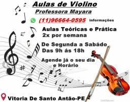 Aulas de Musica Violino Vitória de Santo Antão